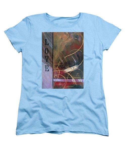What The World Needs Now Women's T-Shirt (Standard Cut) by Roberta Rotunda