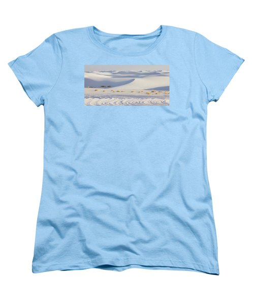 White Sands New Mexico Women's T-Shirt (Standard Cut) by Elvira Butler