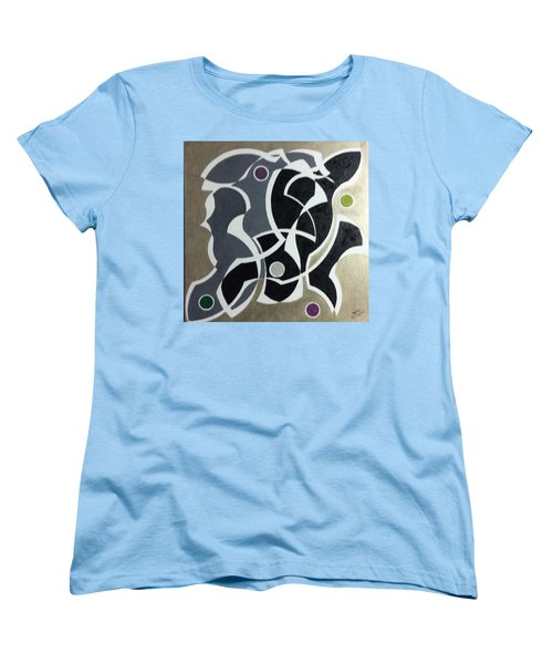 Winter Women's T-Shirt (Standard Cut) by Hang Ho