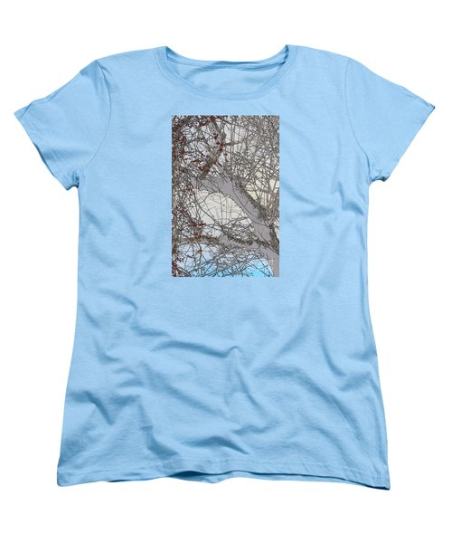 Women's T-Shirt (Standard Cut) featuring the photograph Witness Tree by Jesse Ciazza