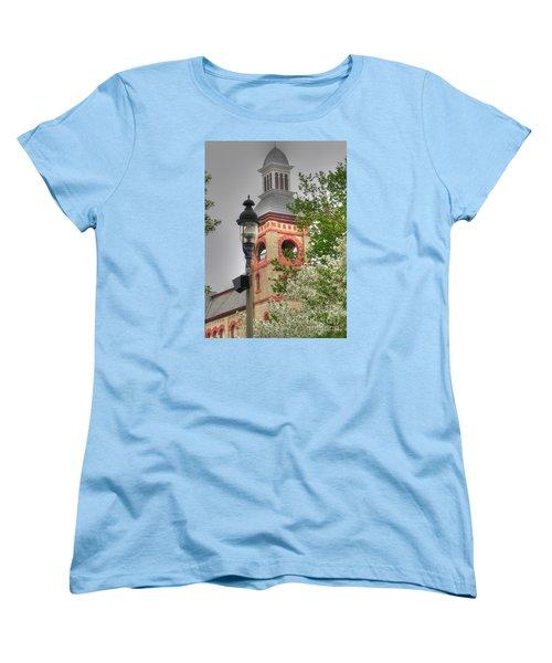 Woodstock Opera House Women's T-Shirt (Standard Cut) by David Bearden