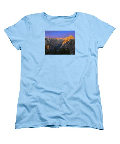 Yosemite Summer Sunset 2012 Women's T-Shirt (Standard Cut)