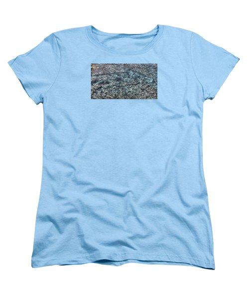 Women's T-Shirt (Standard Cut) featuring the pyrography Yury Bashkin Sea by Yury Bashkin