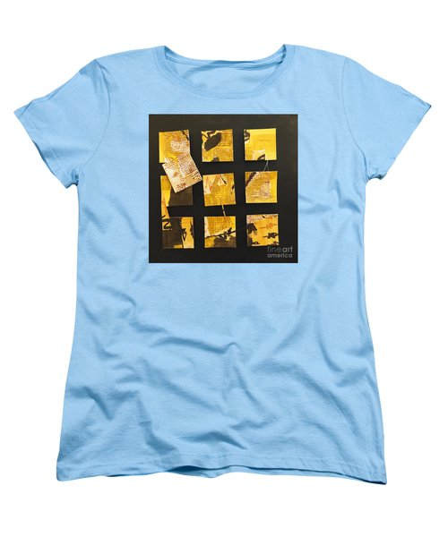 10 Square Women's T-Shirt (Standard Cut) by Gallery Messina