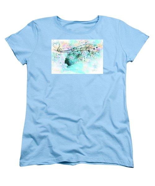 10846 Melodic Dreams Women's T-Shirt (Standard Cut) by Pamela Williams