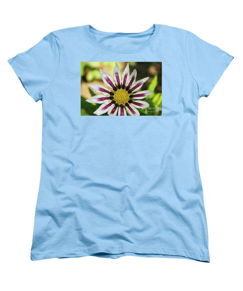 Nice Flower Women's T-Shirt (Standard Cut) by Elvira Ladocki