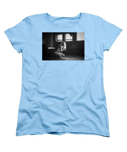 Women's T-Shirt (Standard Cut) featuring the photograph .. by Traven Milovich