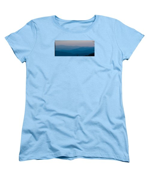 Panoramic Fine Art Prints Women's T-Shirt (Standard Cut) by Kevin Blackburn