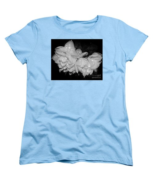Women's T-Shirt (Standard Cut) featuring the photograph Flowers by Elvira Ladocki