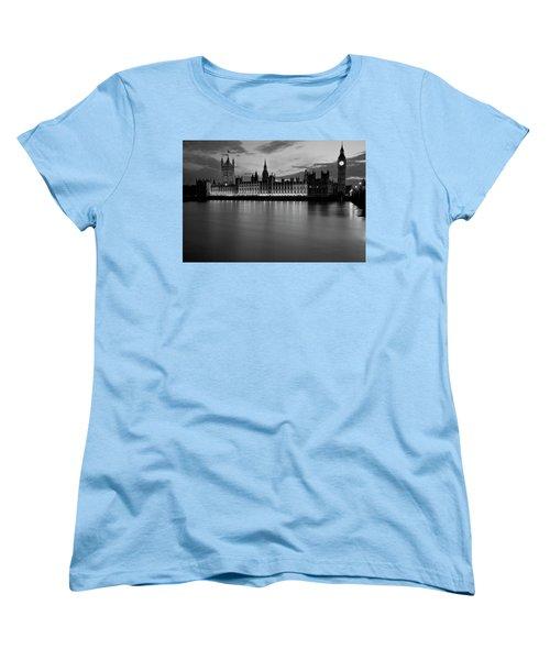 Big Ben And The Houses Of Parliament Women's T-Shirt (Standard Cut)