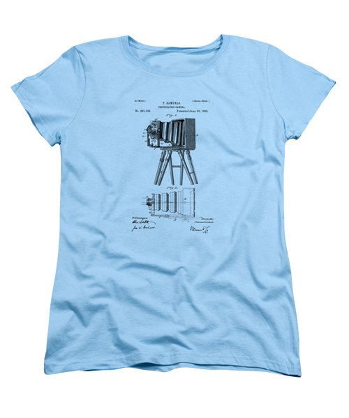1885 View Camera Patent  Women's T-Shirt (Standard Cut) by Barry Jones