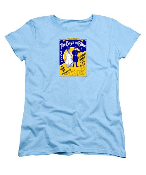 1901 The Boys In Blue, The Boston Police Women's T-Shirt (Standard Cut)