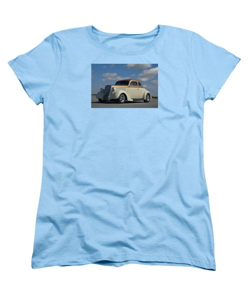 1935 Ford Coupe Hot Rod Women's T-Shirt (Standard Cut) by Tim McCullough