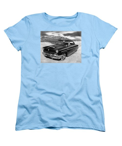 1953 Mercury Monterey On Bonneville Women's T-Shirt (Standard Cut) by Peter Piatt