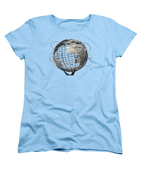 1964 World's Fair Unisphere Women's T-Shirt (Standard Cut) by Bob Slitzan