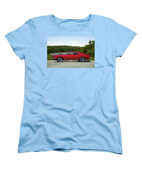 1969 Mustang Mach 1 Women's T-Shirt (Standard Cut) by Tim McCullough