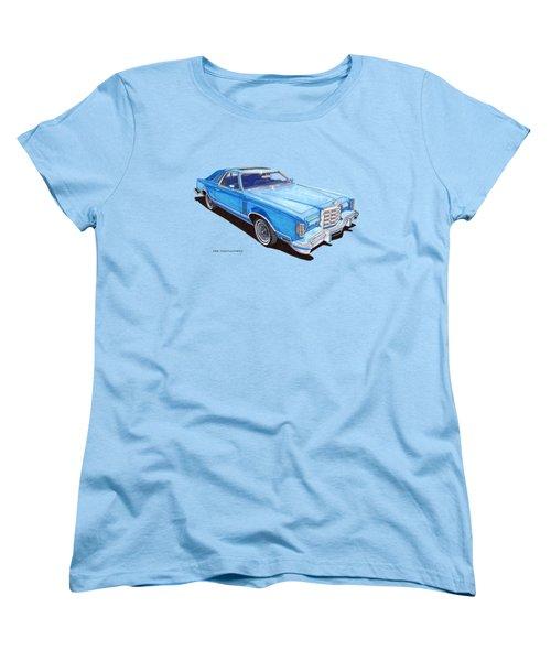 1979 Thunderbird Tee Shirt Art Women's T-Shirt (Standard Cut) by Jack Pumphrey