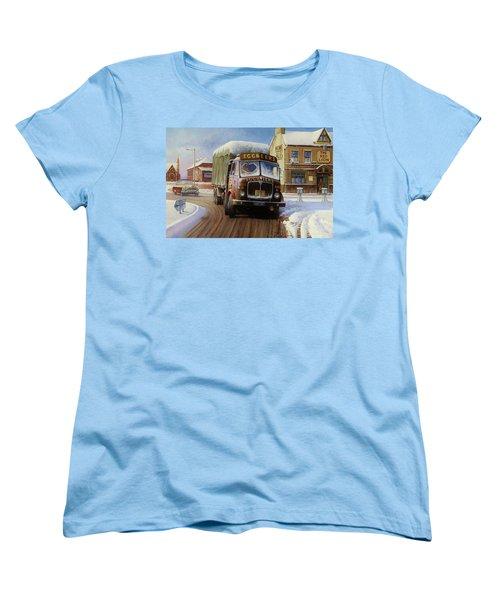 Aec Tinfront Women's T-Shirt (Standard Cut) by Mike  Jeffries