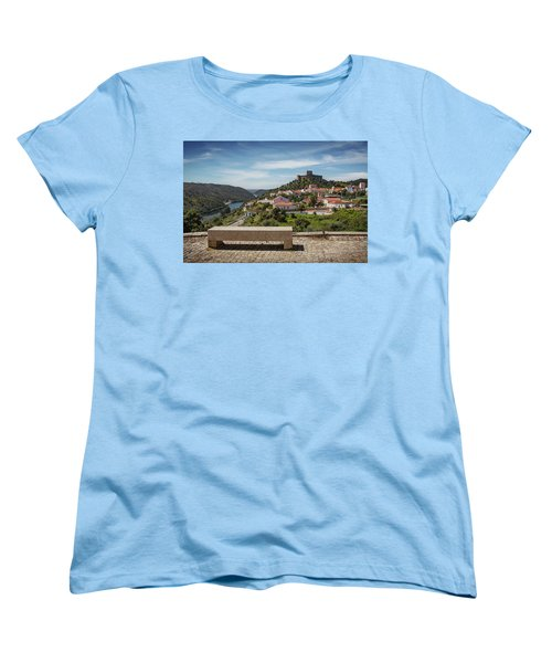 Women's T-Shirt (Standard Cut) featuring the photograph Belver Landscape by Carlos Caetano