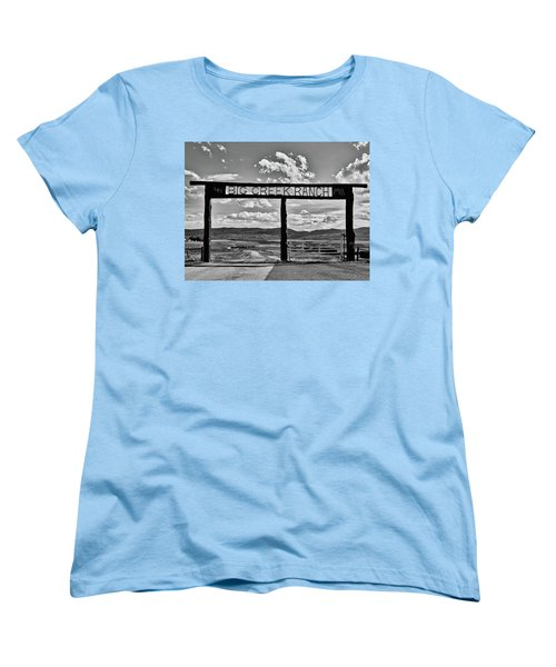 Big Creek Ranch Women's T-Shirt (Standard Cut) by L O C