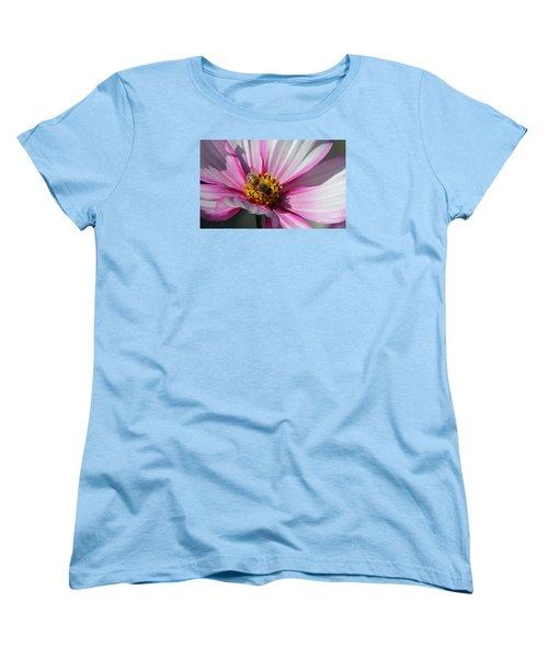 Busy Bee Women's T-Shirt (Standard Cut) by Yumi Johnson