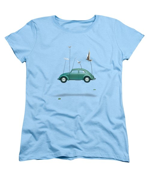 Cars  Women's T-Shirt (Standard Cut) by Mark Ashkenazi