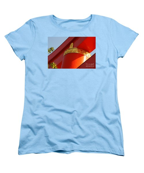 Women's T-Shirt (Standard Cut) featuring the photograph Heian Torii by Cassandra Buckley