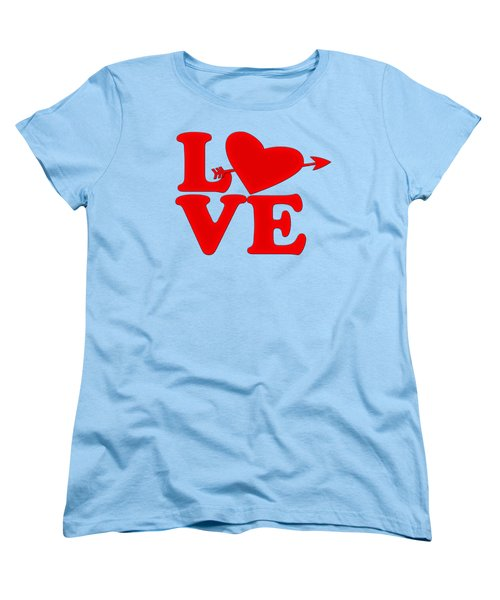 Love Women's T-Shirt (Standard Cut) by Bill Cannon