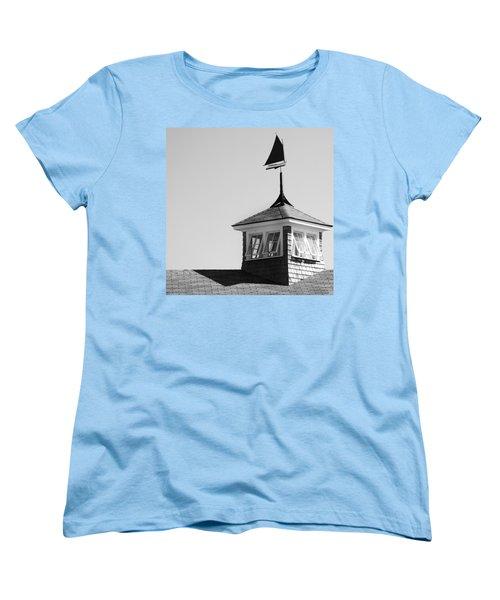 Nantucket Weather Vane Women's T-Shirt (Standard Cut) by Charles Harden