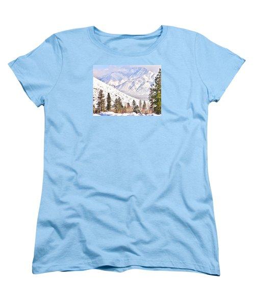 Natural Nature Women's T-Shirt (Standard Cut) by Marilyn Diaz