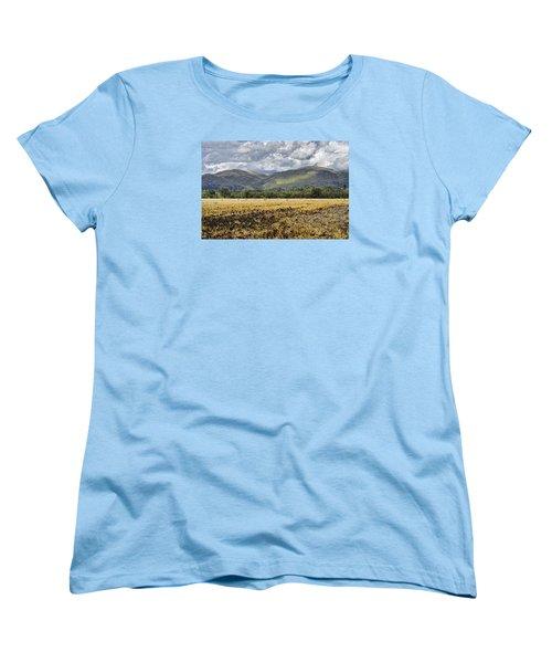 Ochil Hills Women's T-Shirt (Standard Cut) by Jeremy Lavender Photography