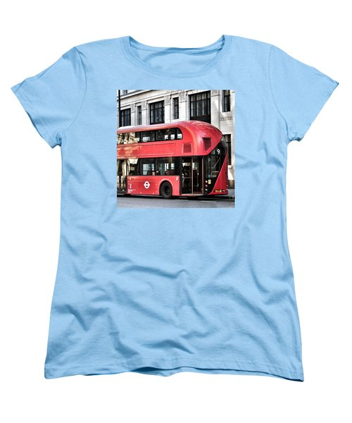 Red Bus In London  Women's T-Shirt (Standard Cut)