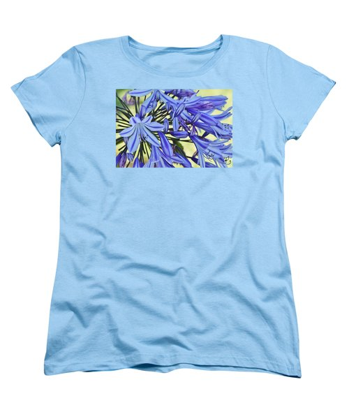 the lily of the Nile... Women's T-Shirt (Standard Cut) by Werner Lehmann