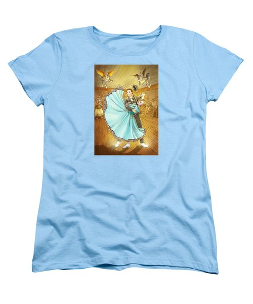 The Magic Dancing Shoes Women's T-Shirt (Standard Cut) by Reynold Jay