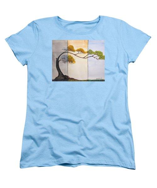 Time After Time Women's T-Shirt (Standard Cut) by Edwin Alverio