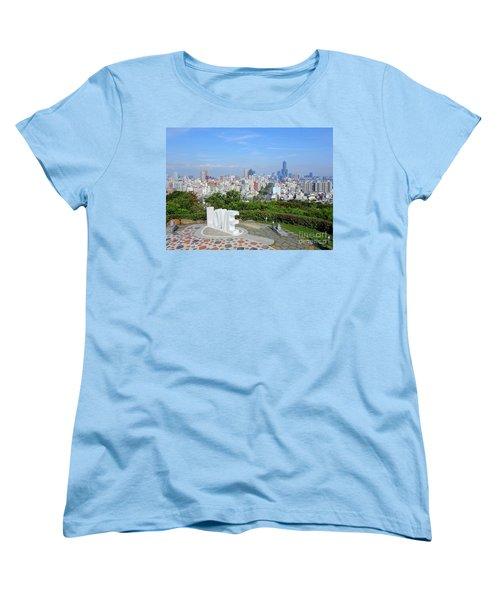 View Of Kaohsiung City Women's T-Shirt (Standard Cut) by Yali Shi