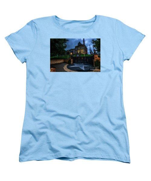 Women's T-Shirt (Standard Cut) featuring the photograph Webster County Courthouse by Thomas R Fletcher