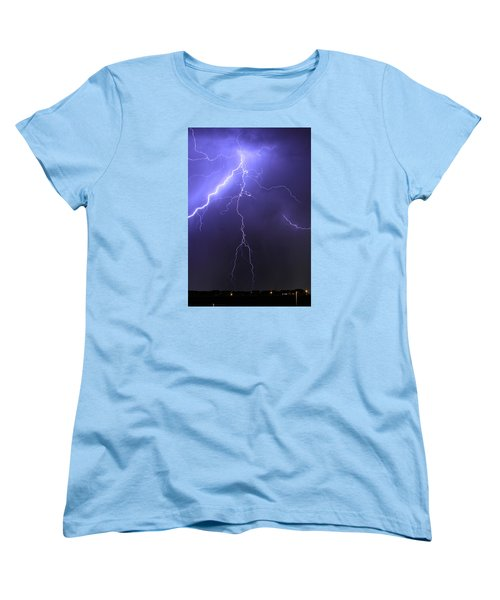 West Jordan Lightning 4 Women's T-Shirt (Standard Cut) by Paul Marto
