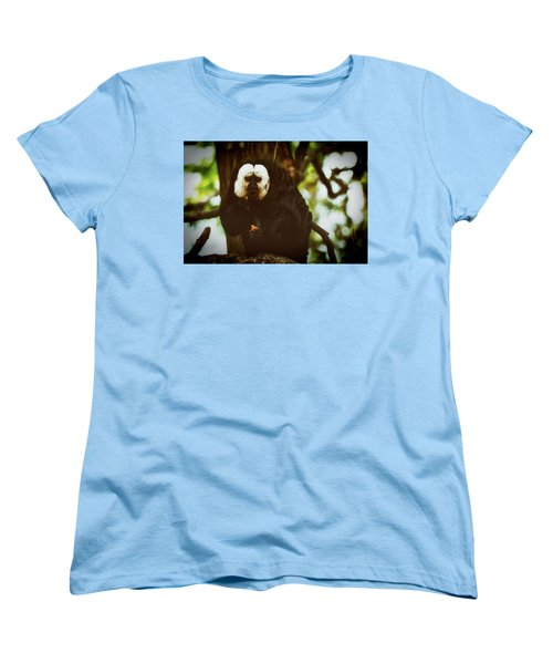 Women's T-Shirt (Standard Cut) featuring the photograph White Saki by The 3 Cats