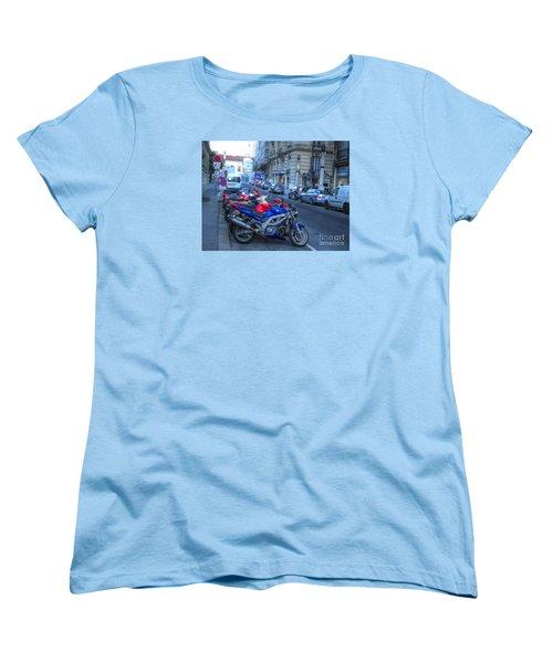 Women's T-Shirt (Standard Cut) featuring the pyrography Yury Bashkin Street by Yury Bashkin