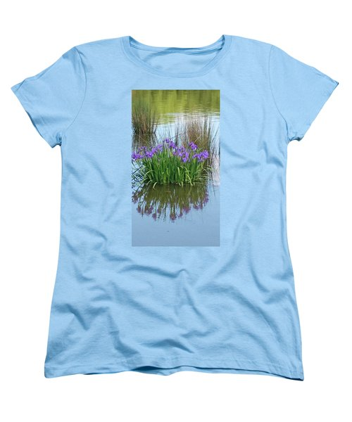Iris Women's T-Shirt (Standard Cut) by Sobajan Tellfortunes