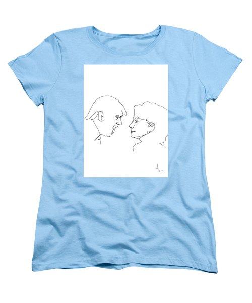 2016 Election Women's T-Shirt (Standard Cut) by Harold Belarmino