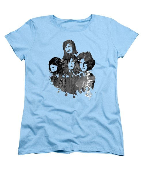 Led Zeppelin Collection Women's T-Shirt (Standard Cut) by Marvin Blaine