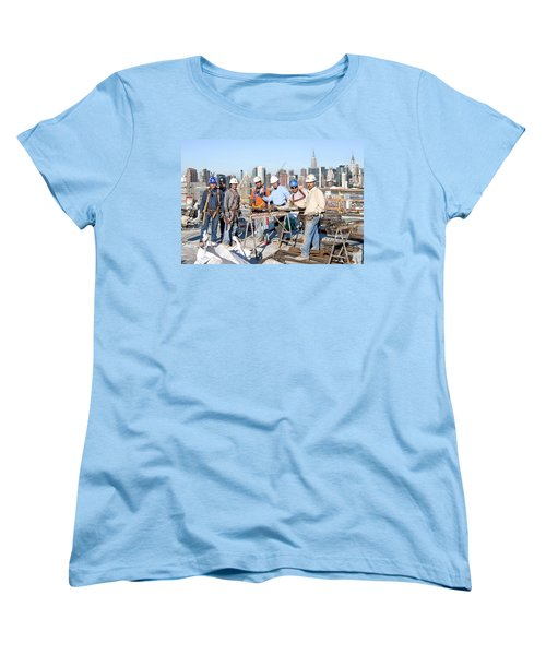 27th Street Lic 4 Women's T-Shirt (Standard Cut) by Steve Sahm