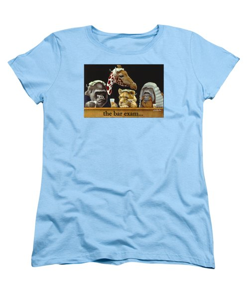 Bar Exam... Women's T-Shirt (Standard Cut) by Will Bullas
