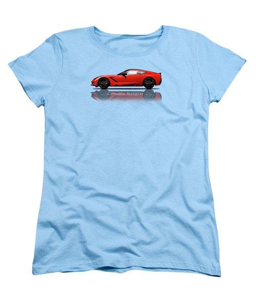Chevrolet Corvette Stingray Women's T-Shirt (Standard Fit)