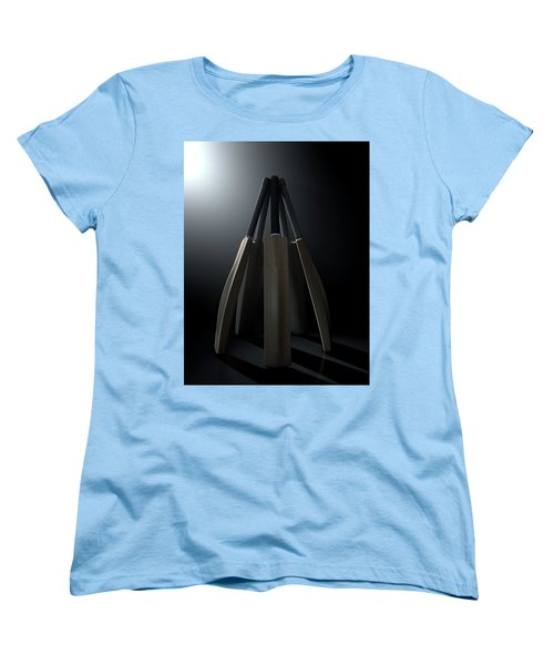 Cricket Back Circle Dramatic Women's T-Shirt (Standard Cut) by Allan Swart