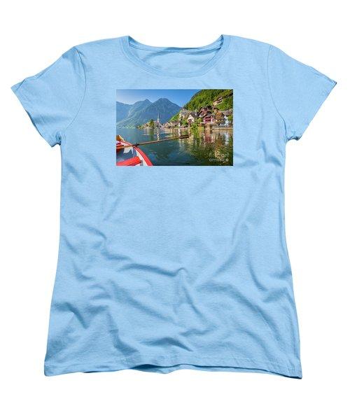 Hallstatt Women's T-Shirt (Standard Cut) by JR Photography