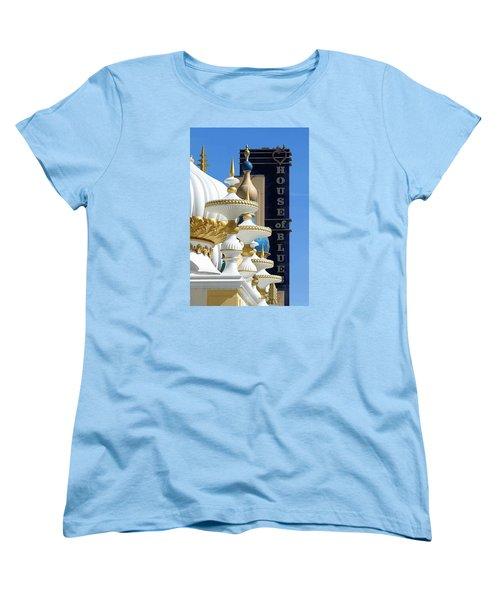 House Of Blues Women's T-Shirt (Standard Cut) by Allen Beilschmidt