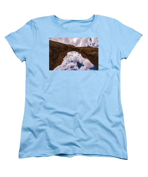 Women's T-Shirt (Standard Cut) featuring the photograph Monument Rocks by Jay Stockhaus